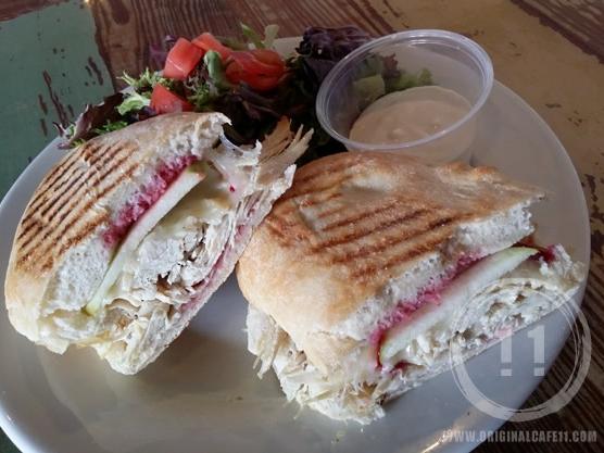Apple Turkey Sandwich