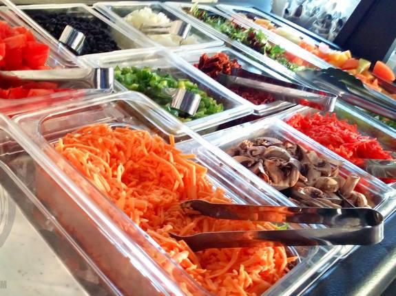 Brunch Buffet Salad Bar