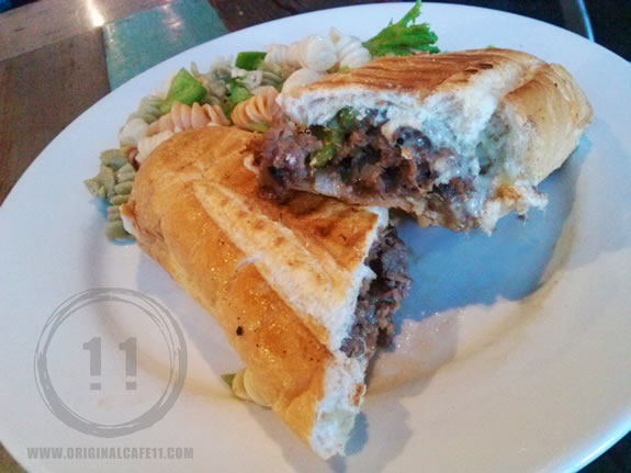 Cheese Steak Panini