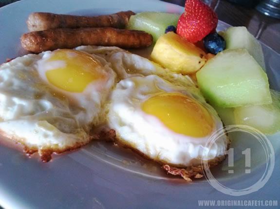 Gluten Free 3 Egg Breakfast