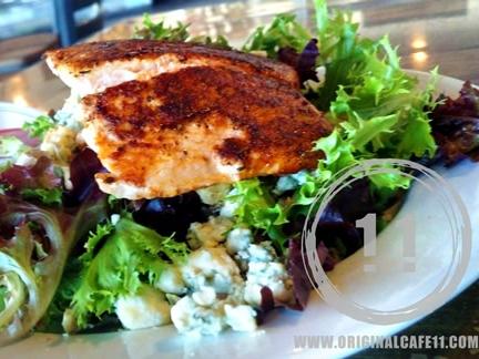 Gluten Free Blackened Salmon Salad