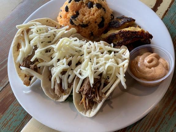 Southwest Pork Tacos