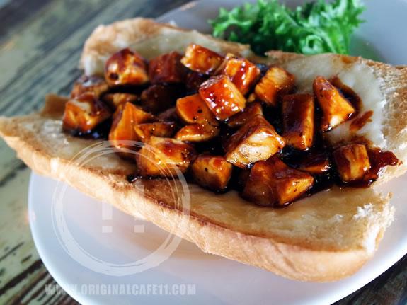 BBQ Pork Or Chicken Sandwich