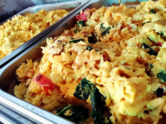 Feta & Spinach Scrambled Eggs