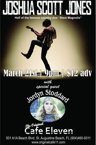 Joshua Scott Jones with Special Guest Jordyn Stoddard