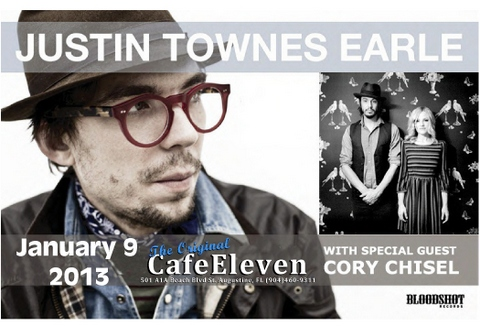 Justin Townes Earle with Special Guest Cory Chisel