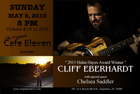 Cliff Eberhardt with Special Guest Chelsea Saddler